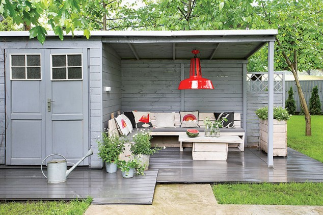 Garden Storage And Open Lean-To | Budget-Friendly Garden Shed Ideas Worth Every Dollar