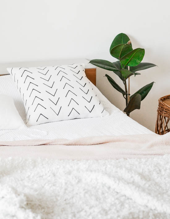 DIY Tribal pattern cushion