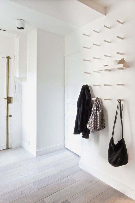 Minimal Scandinavian Hallways