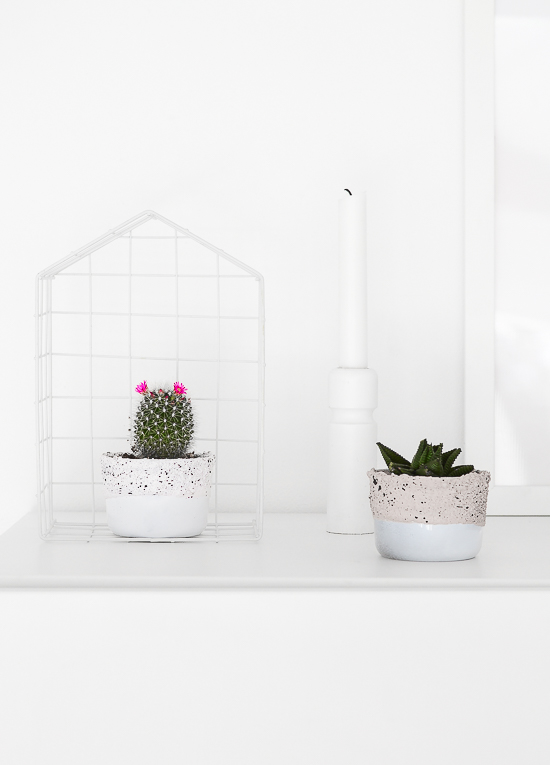 Ikea hack - glass containers into planters 26