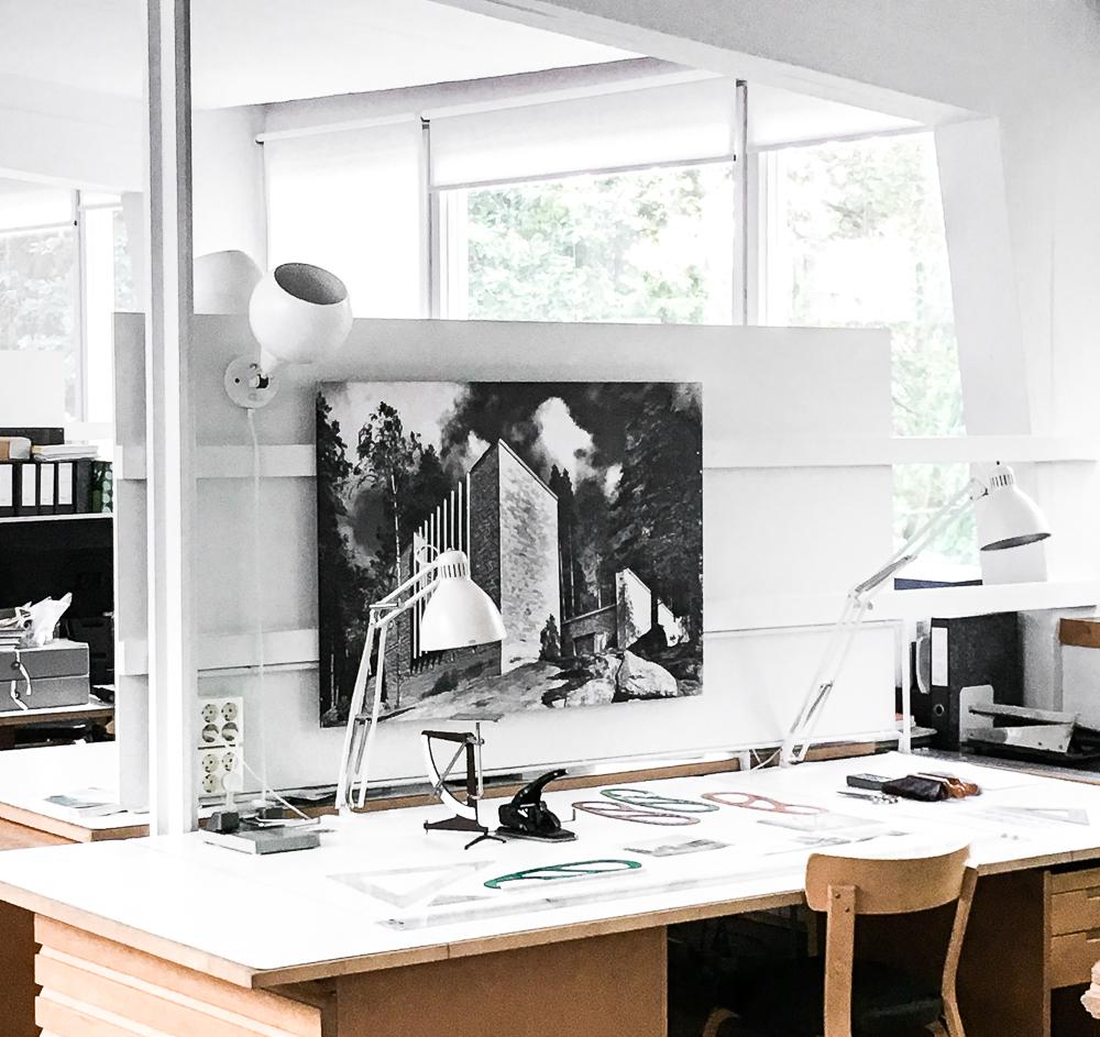 Alvar Aalto studio tour