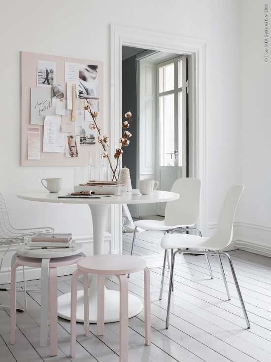 blush interior styling