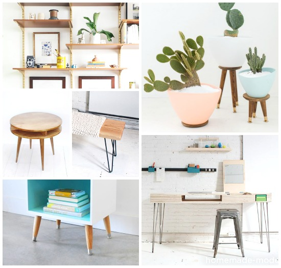 passionshake mid-century inspired furniture