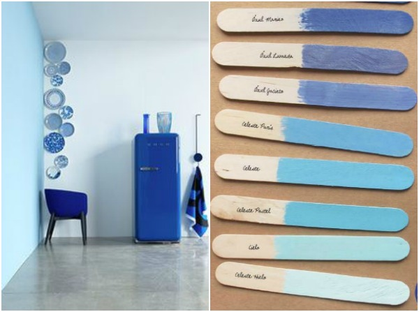 Shades Of Blue Paint trend shake: shades of blue in 2014 • passion shake