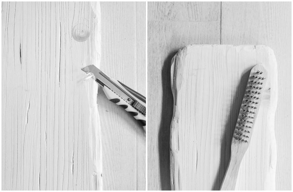 DIY Vintage stool step by step