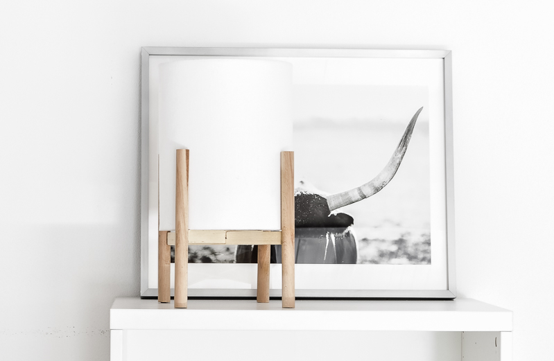 A DIY Mid-Century Modern Lamp