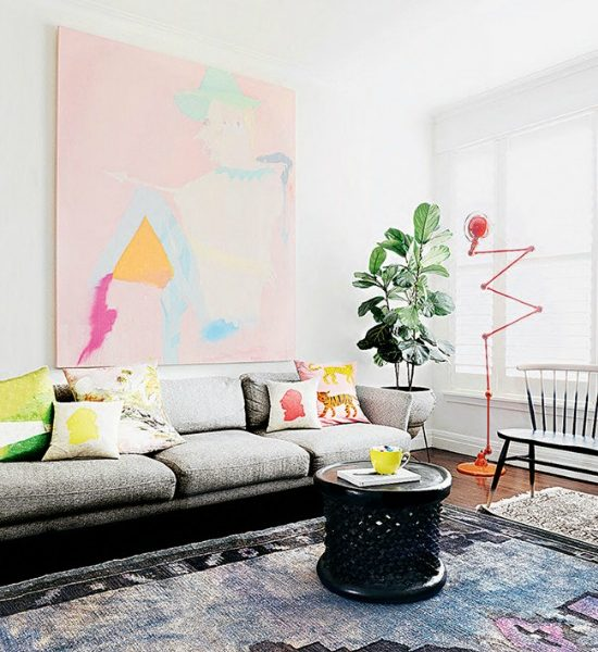 Colorful home of Miranda Skoczek