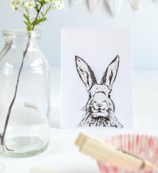 DIY Easter Bunny Card