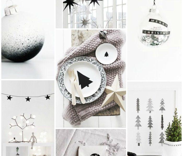 24 Monochrome Christmas ideas