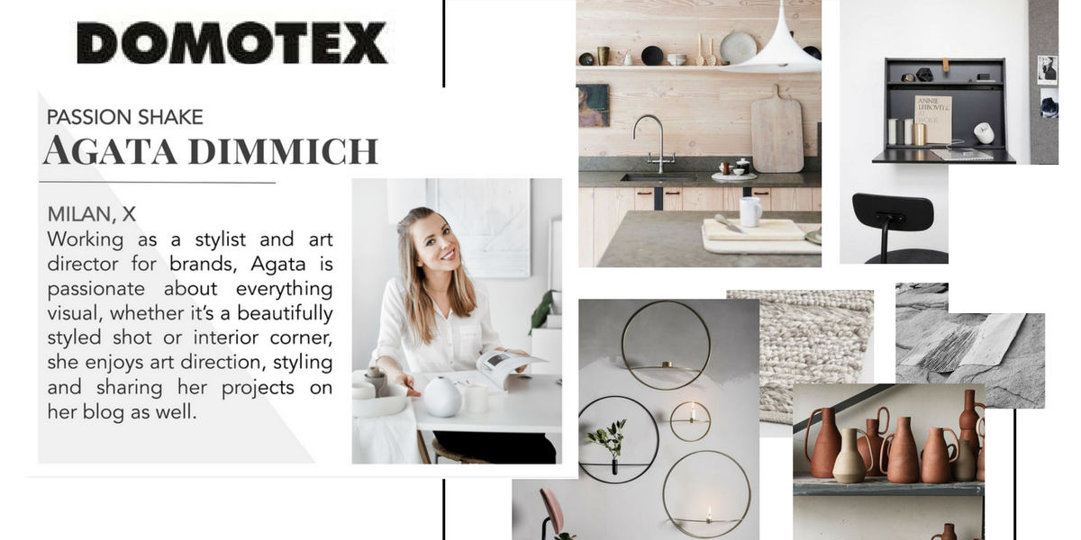 Visiting Design Fair: Domotex 2018