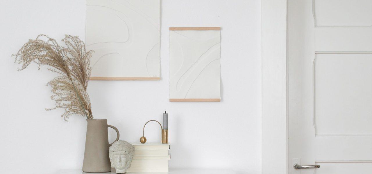 DIY Minimalistic Paper Art