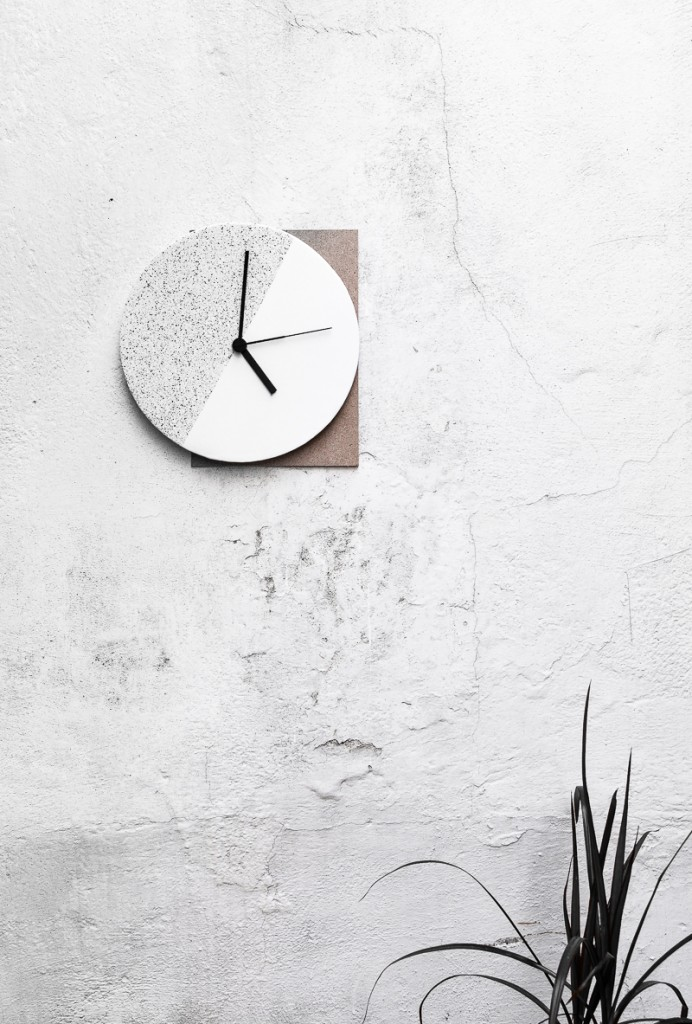 DIY Component Wall Clock