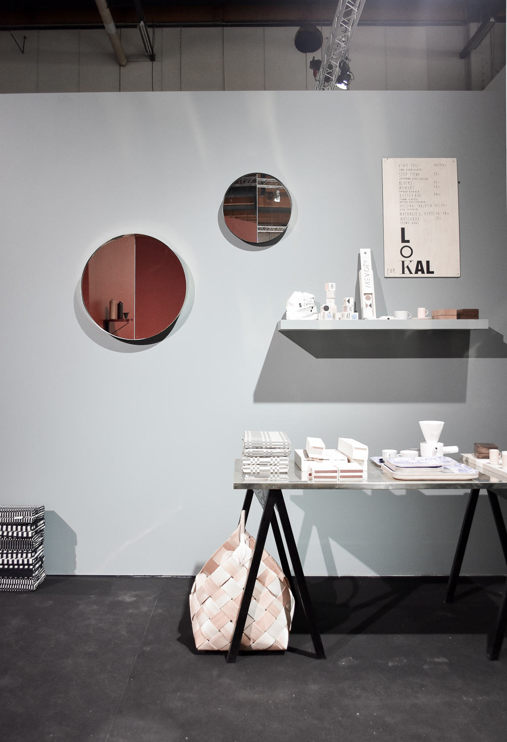 Decorative mirror Habitare 2016