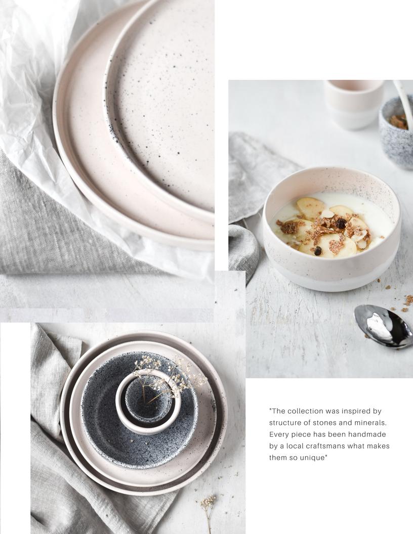 Aoomi ceramics, styling Agata Dimmich / Passionshake
