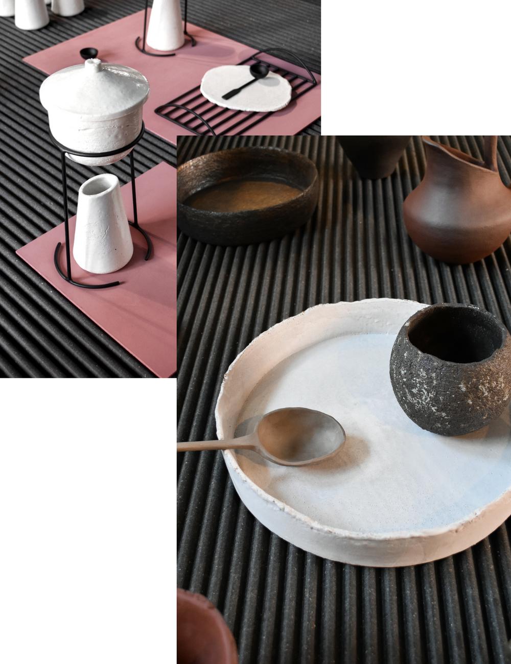 Handmade pottery interior trend