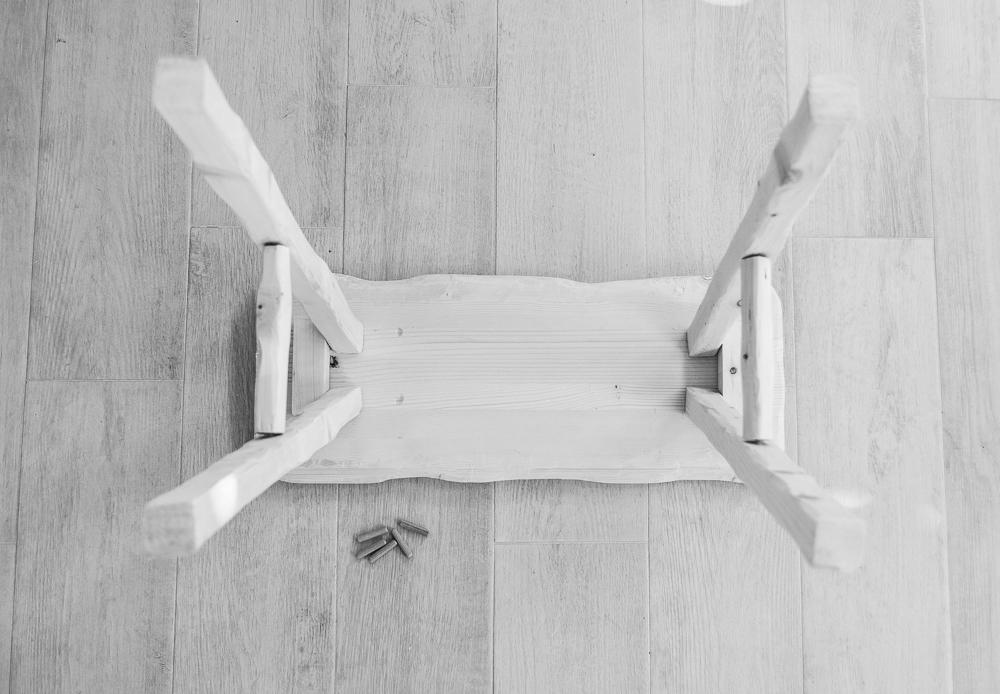 DIY Vintage stool tutorial