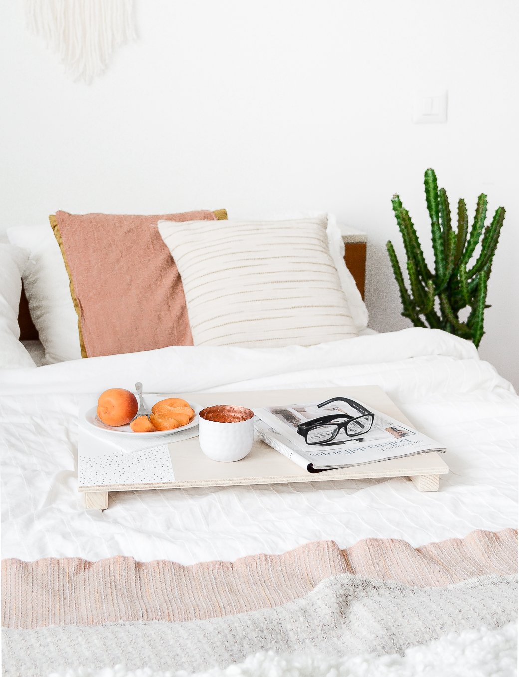 The Easiest Way To Make A Bed Tray