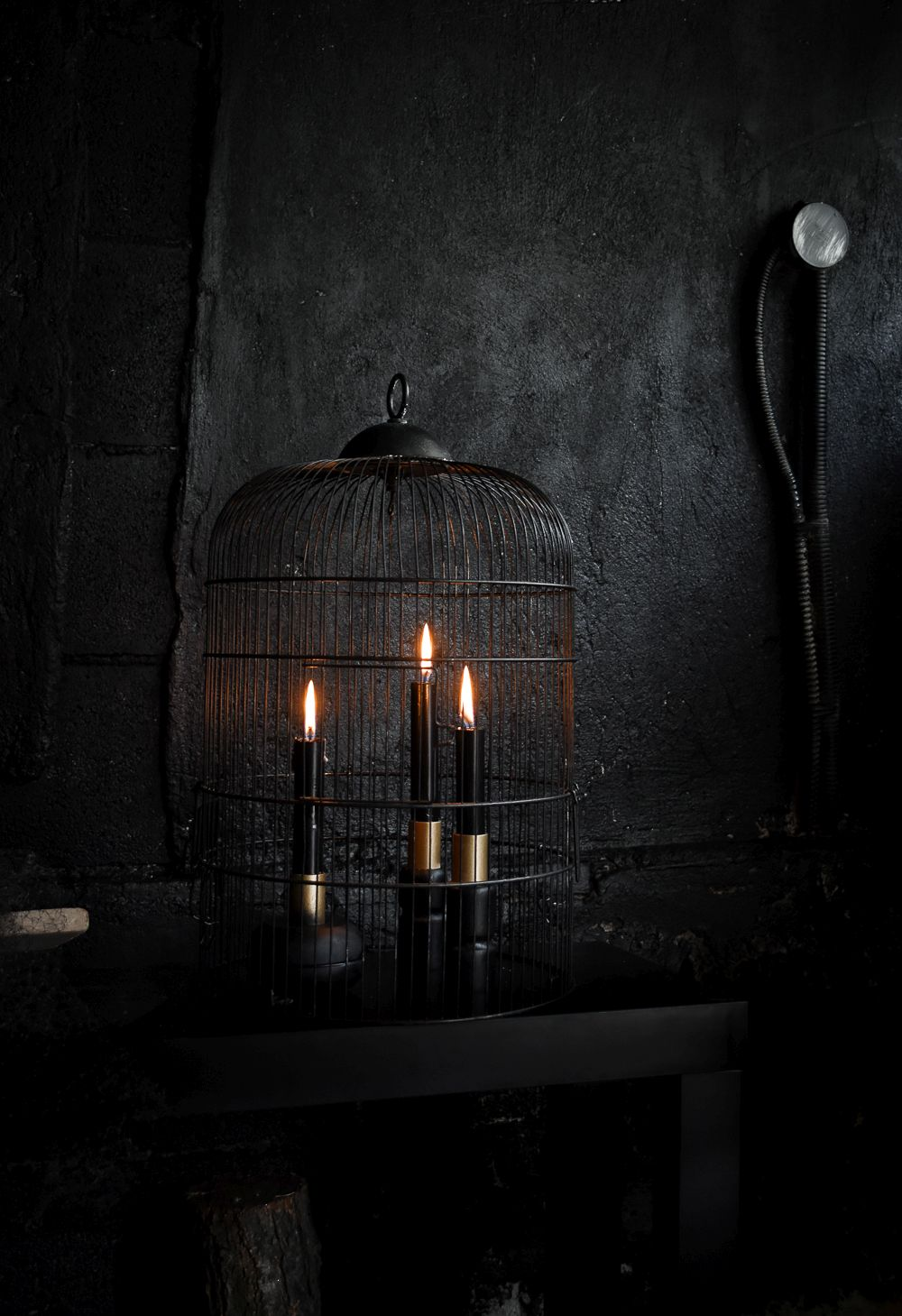 black-halloween-candle-holders-wire