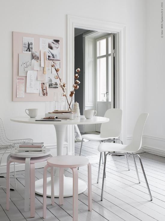 blush interior styling