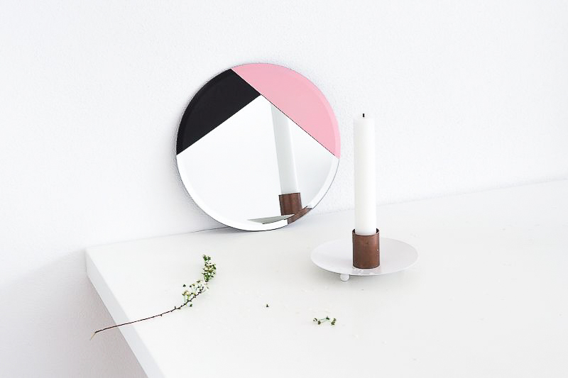 DIY Design Accent Mirror