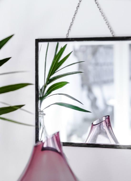 diy hanging mirror passionshake