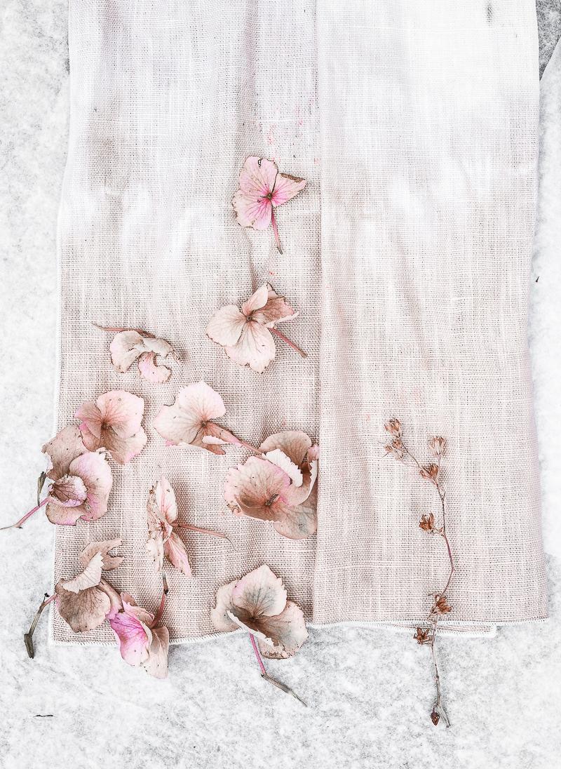 DIY Dyed fabrics