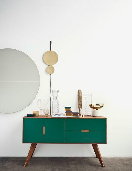 forrest green cabinet