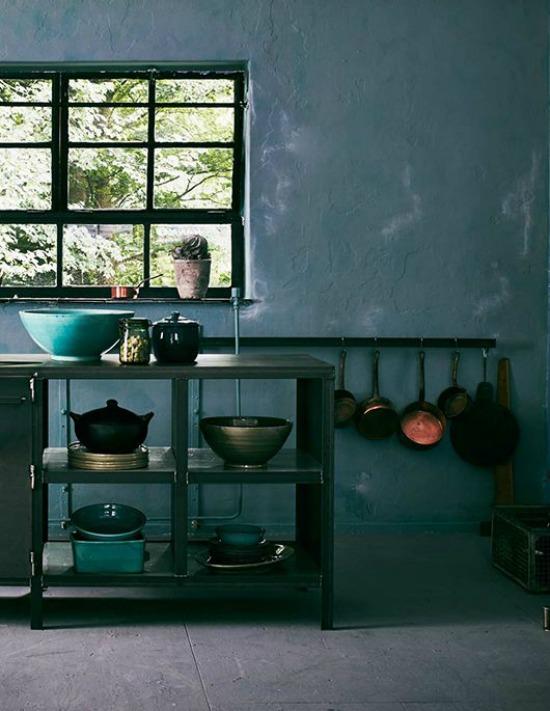 forrest green kitchen