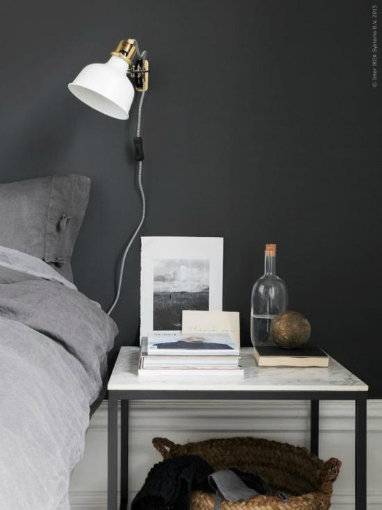 nightstand styling