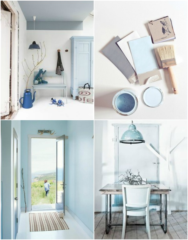 Benjamin Moore - A breath of fresh air color palette