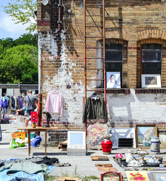 Flea market and inspiration garden