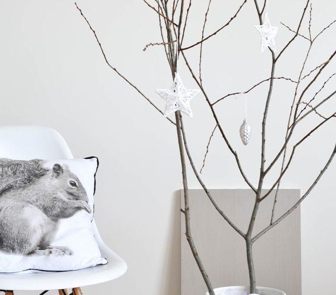 Christmas ideas III – Tree branch