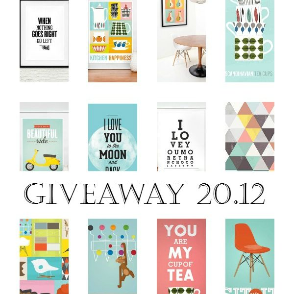 GIVEAWAY: Win 2 prints of your choice – Updated