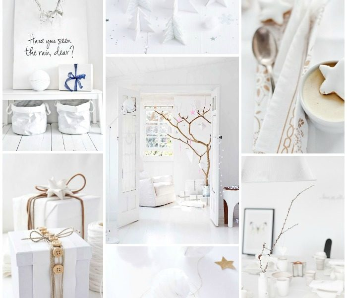 18 White and Bright Christmas ideas