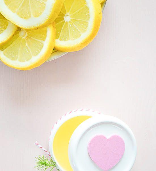 DIY – Lemon hand lotion