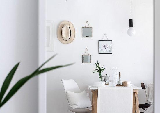 DIY Set of 3 Hanging Mirrors