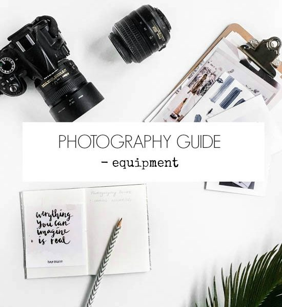 Photography guide – My Equipment