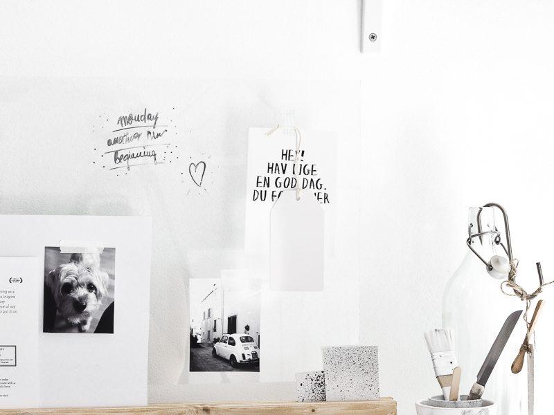 Hello September and DIY Desk Organizer
