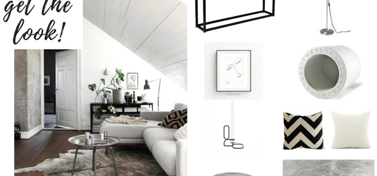 Get the look: Grey and Beige Tones