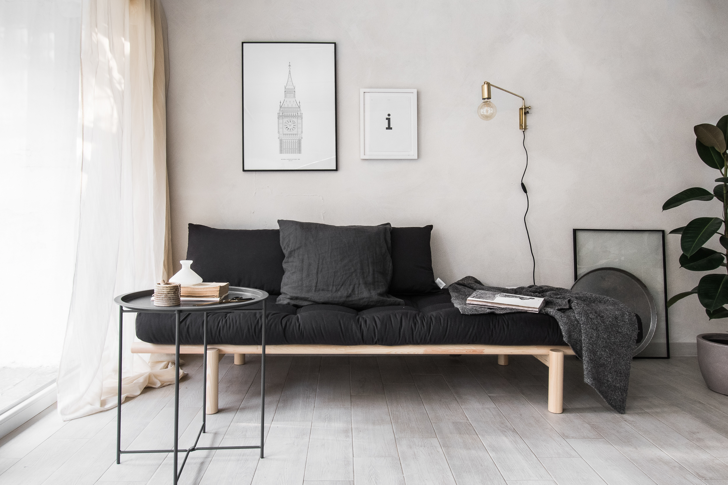 New Studio S Look With The Stylish Daybed From Karup