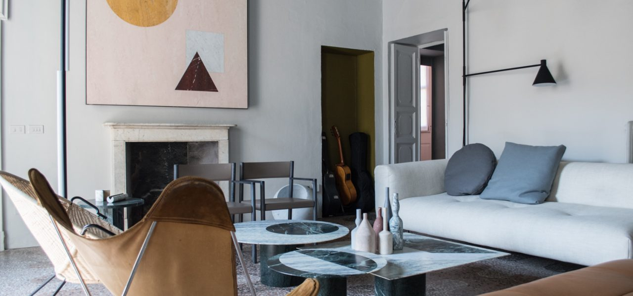 Salvatori Styled Apartment visited at Fuorisalone 2018
