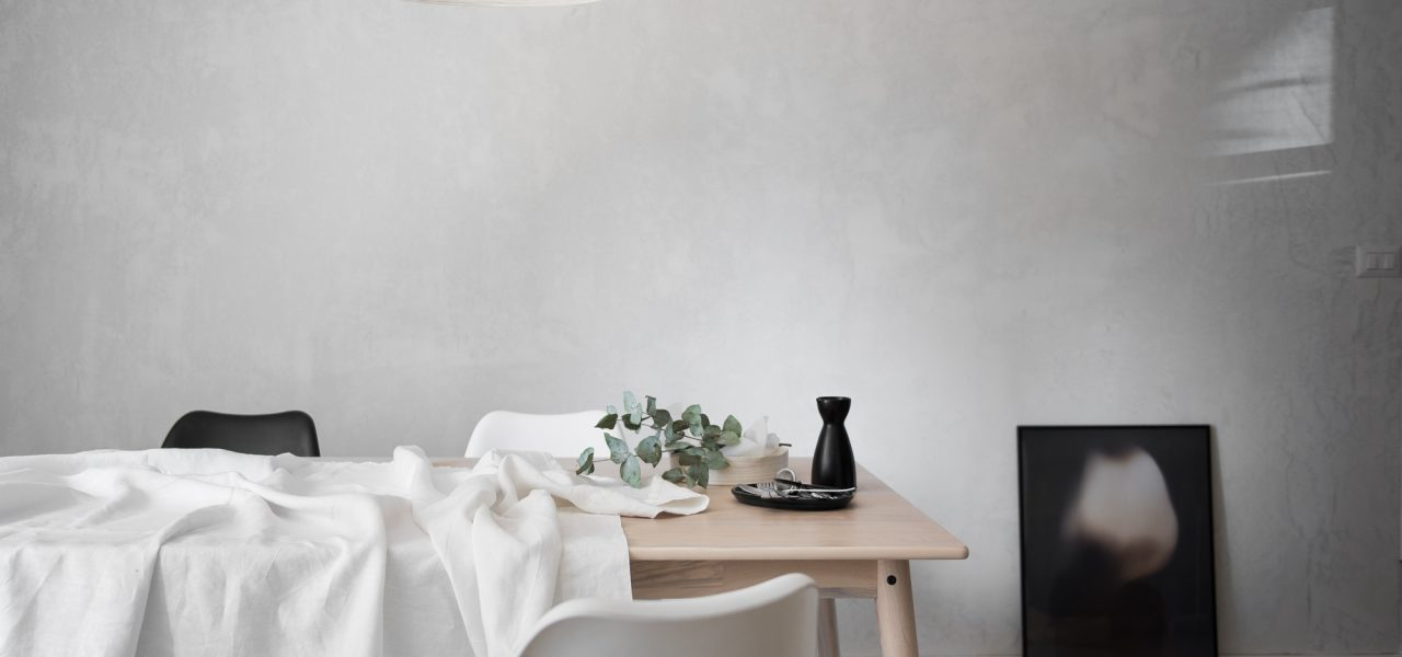Minimal Dining Room progress and design dilemmas