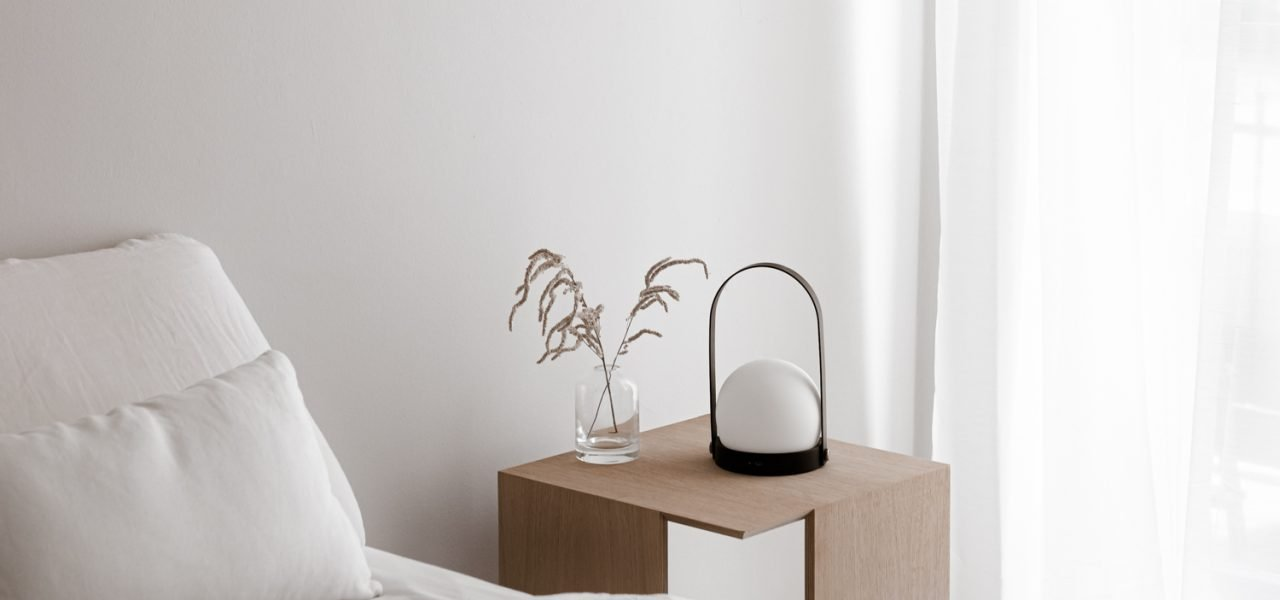 Perfect minimal nightstand for your bedroom